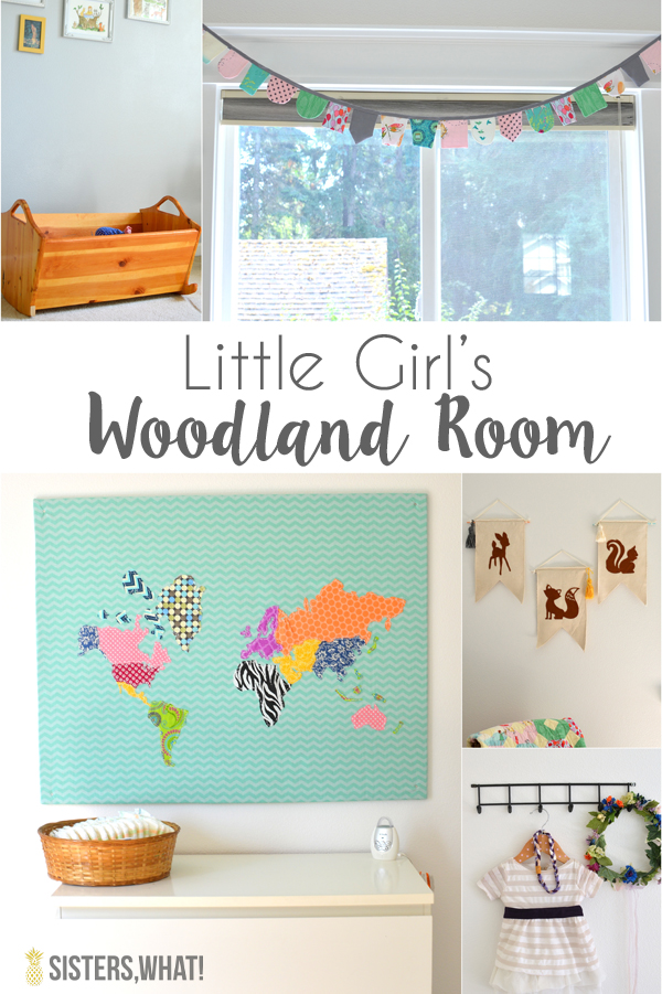 Little Girl's Wood Room