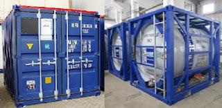 ISO Tank Container Untuk Bisnis Pertambangan dan Migas