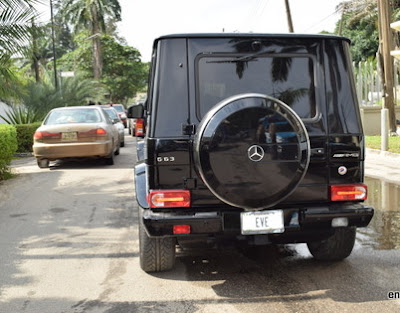 what car does genevieve nnaji drive