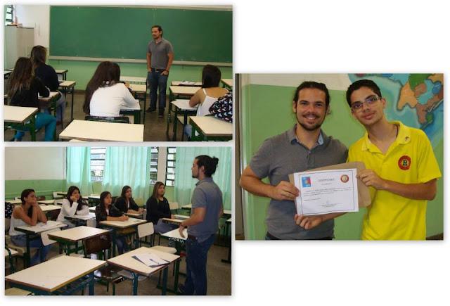 "Rotaract Club de Registro-SP realiza ""Projeto Rumo"""