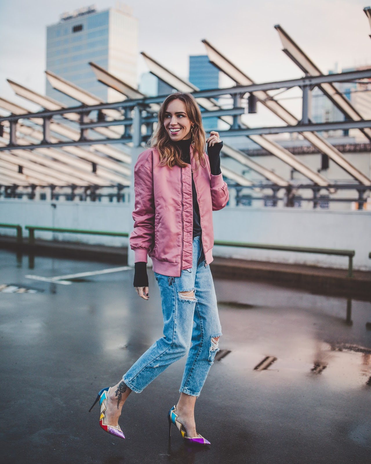 capturing movement walking street style outfit photography tips