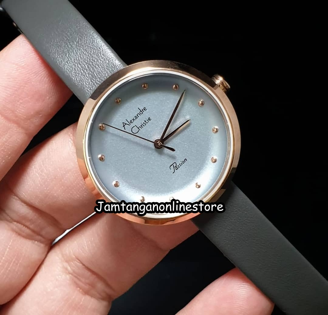 Jam Tangan Online Storeku Alexandre Christie Alexandra Watch 2745 Redgreywhiteblue