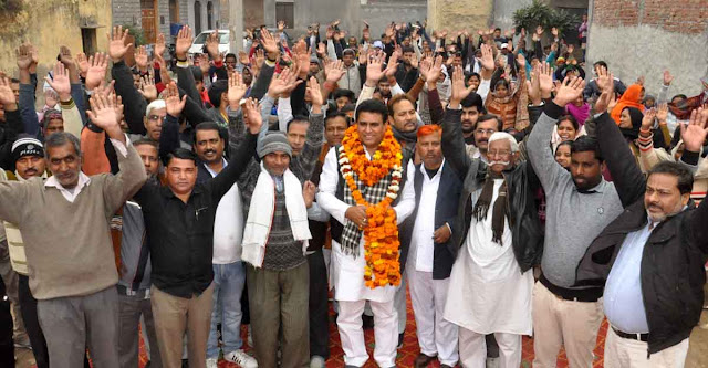 Against the discrimination with the Tiganga area, against the BJP government, Janardolan: Lalit Nagar