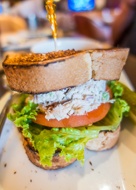 Tuna Salad Sandwich at Nineteen TPC Sawgrass Clubhouse in Ponte Vedra, FL