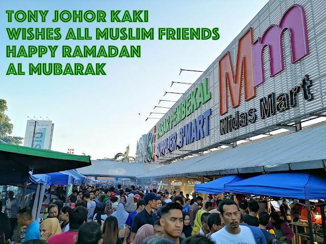 Best Ramadan Bazaars in Johor Bahru 2019. Today, We go to S'MART PANDAN