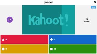 Kahoot de potencias y expresiones polinómicas.