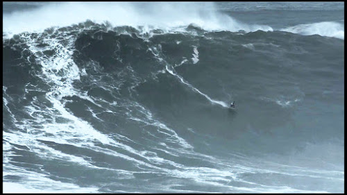 Canhão de Nazaré - maior onda do mundo