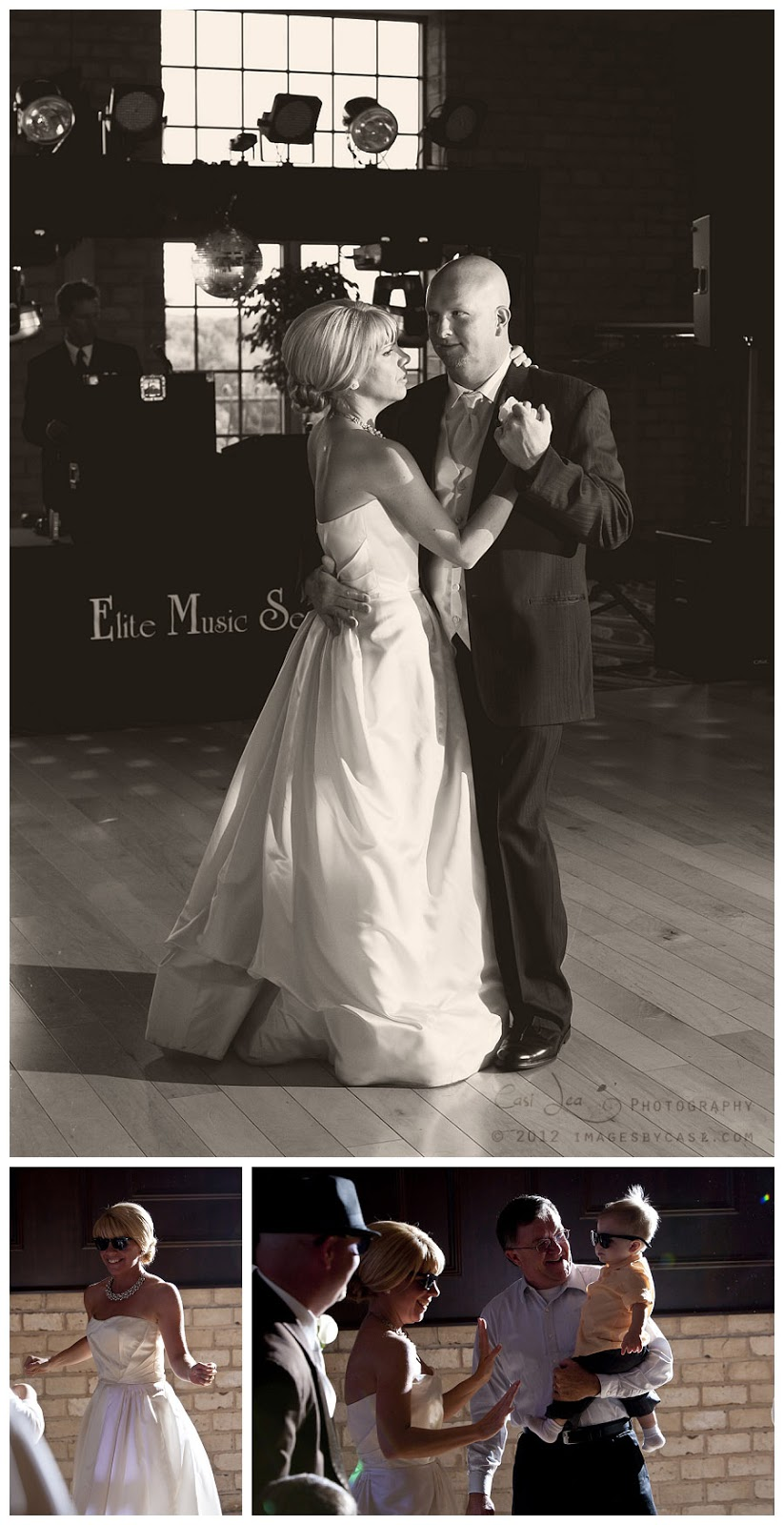 Music by Elite Music Service and photos by green bay wedding photographer Casi Lea Photography