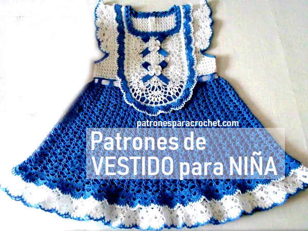 patrones-vestido-niña-ganchillo