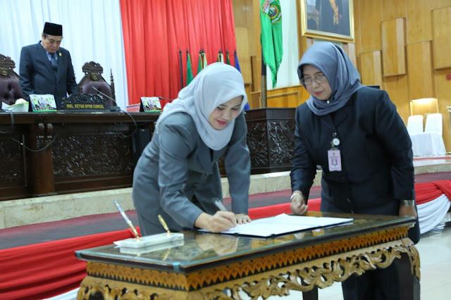 DPRD Provinsi Sumsel Gelar Rapat Penetapan plt Ketua DPRD Provinsi Sumsel