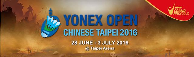 Live Skor Yonex Chinese Taipei Open