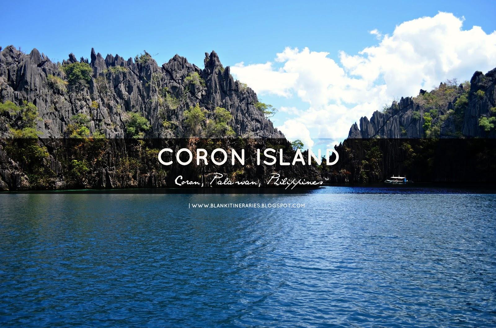 how to go to coron palawan