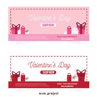 Free Download Vector Hari Valentine