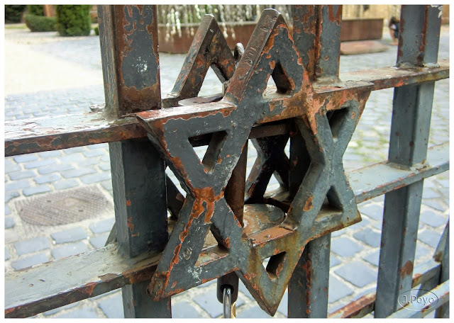 Detalle verja de la Sinagoga, Budapest