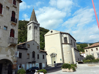 The Duomo of Serravalle at Vittorio Veneto
