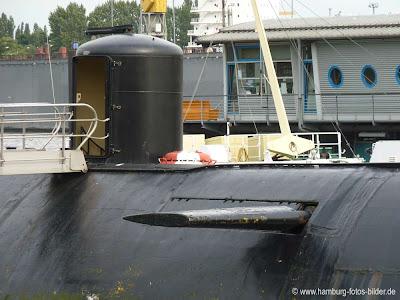 Seitenruder vom U-Boot 434