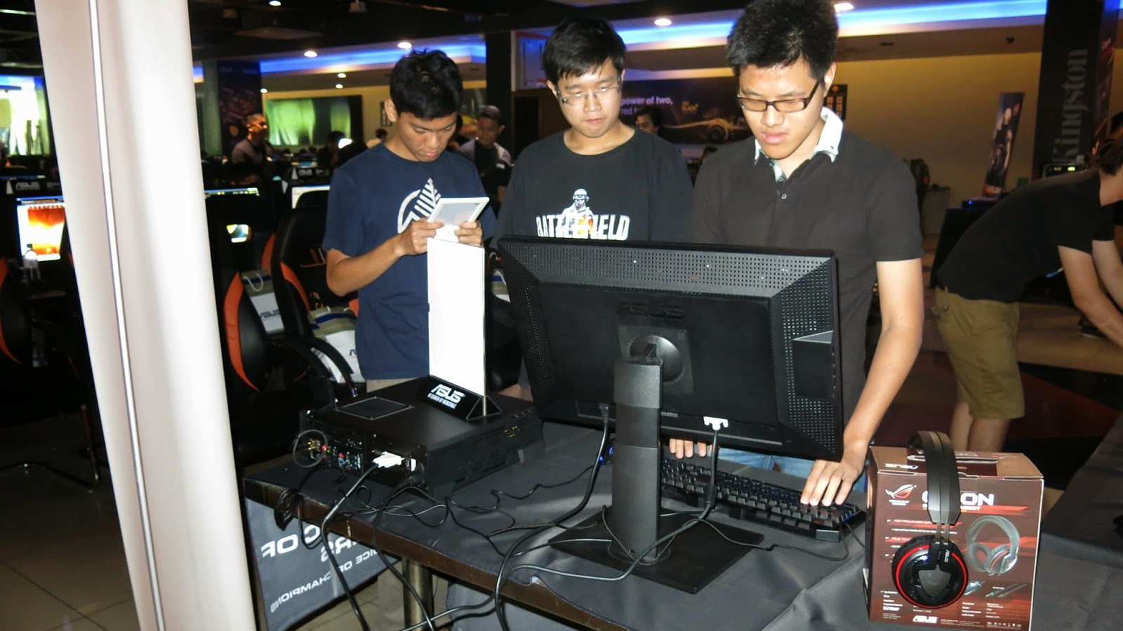 The Second ASUS & NVIDIA Gamers' Gathering Demonstrates Cutting-Edge Technology Designed for Both Gamers and Tech Enthusiasts 20