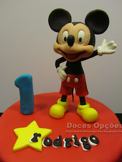 mickey birthday cake