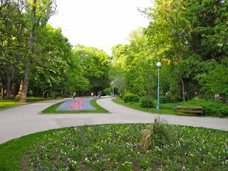 Central Park Sahat Tepe Plovdiv Bulgaria