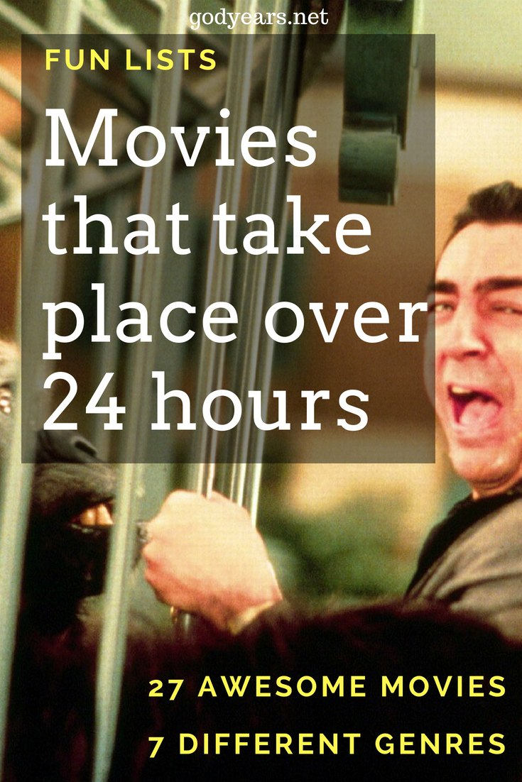 24/7. In this case, that means 7 genres of movies that take place over just 24 hours. Enjoy the list