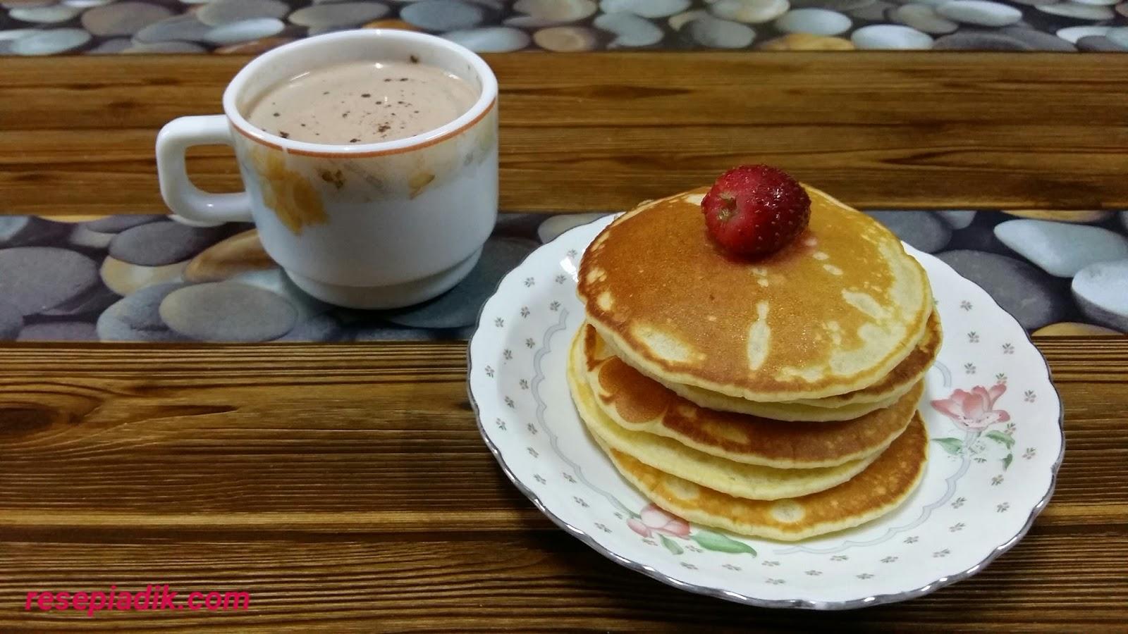Resepi Pancake - Resepi Adik