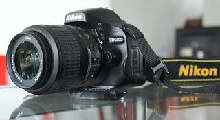 Kamera Nikon D5100 + Lensa