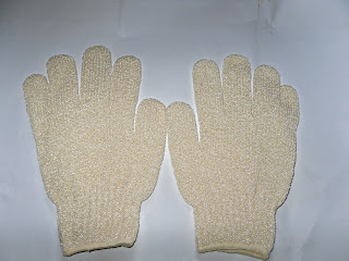 Natural bath gloves recipe for dealing with depression