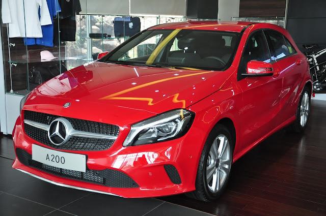 Mercedes A200 2017 có thiết kế đột phá dành cho giới trẻ