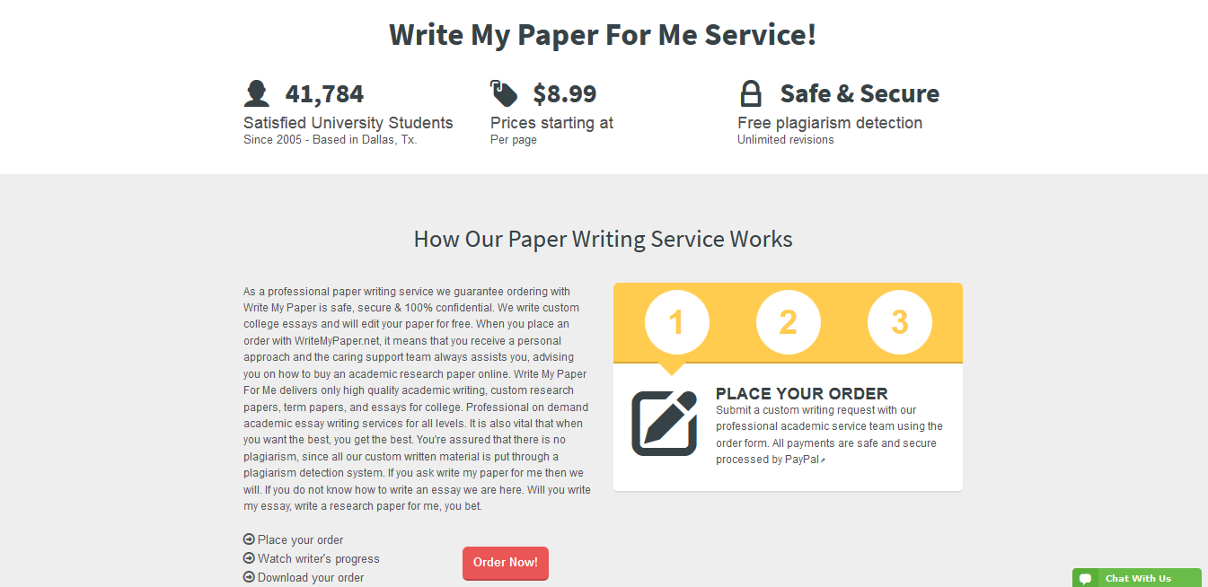 """writemypaper net Wondering, """"can someone write my paper for me as per my instructions"""" worry  no more we write non-plagiarized papers that are customized to each client's."""