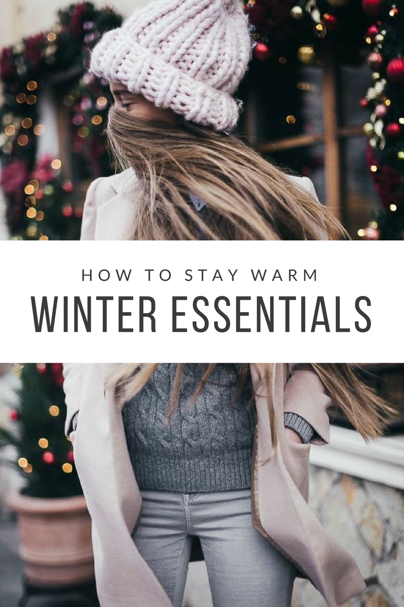 how to stay warm during winter