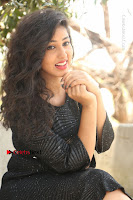 Telugu Actress Pavani Latest Pos in Black Short Dress at Smile Pictures Production No 1 Movie Opening  0176.JPG