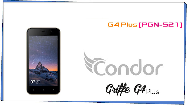 FLASH CONDOR GRIFFE G4 PLUS PGN521 MT6580 (T5492 T5572)  TESTED FIRMWARES  فلاش كوندور مجربة