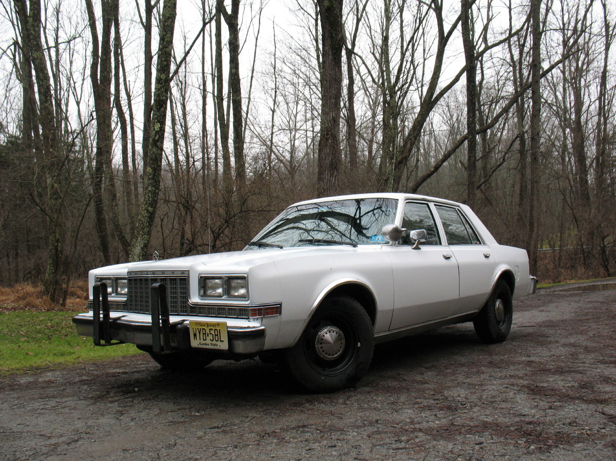 Old Cop Cars For Sale >> Strange Days: For Sale: 1985 Plymouth Gran Fury Ex Police Car