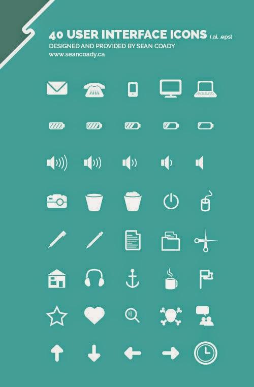 40 FREE UI Icons