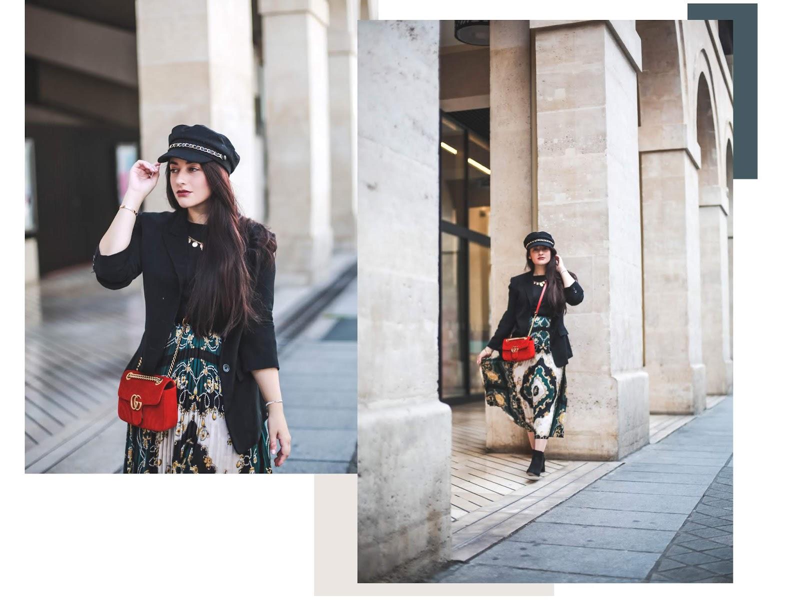 tendance motif foulard blog mode