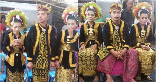 Manum Pria Asal Lombok Nikahi 2 Perempuan Sekaligus