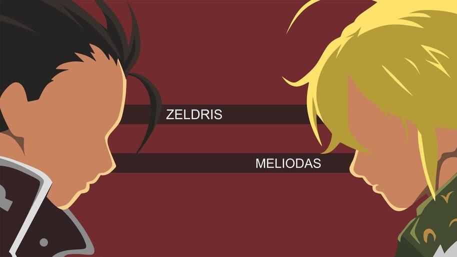 Zeldris and Meliodas, Minimalist, [Nanatsu no Taizai], 8K, #4.1262