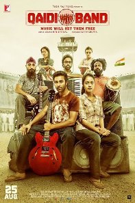 Qaidi Band new upcoming movie first look, Poster of Aadar Jain, Anya Singh download first look Poster, release date