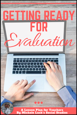 Is it almost time for your teaching evaluation? Getting ready for an observation is stressful! Read these ideas and tips for a successful lesson and year. #teacher