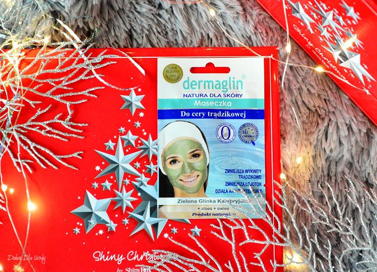 Dermaglin Naturalna maseczka do twarzy Zielona Glinka Kambryjska
