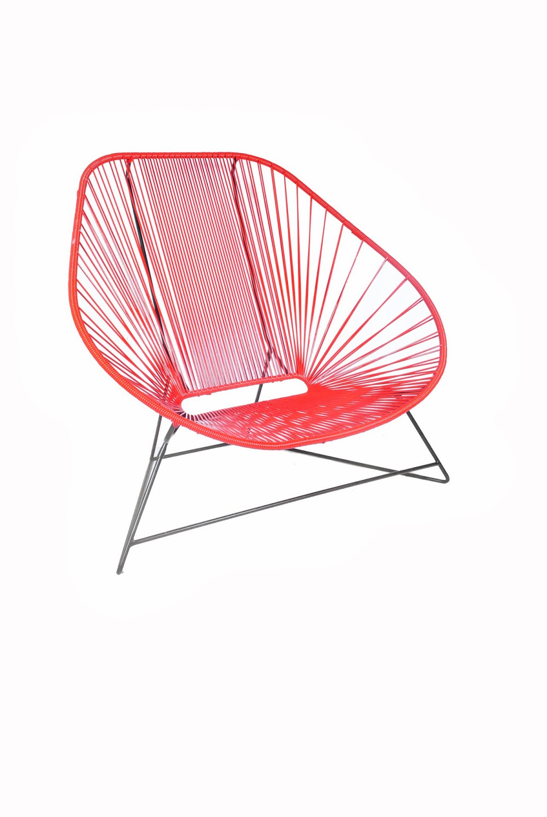 acapulco chair orange desk offerup the in compléte series