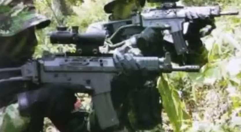 Gambar pasukan sniper TNI Indonesia