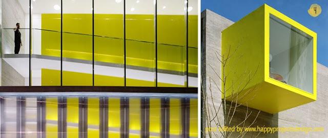 arquitectura en amarillo: Konzepp store, Cité des affaires, primetime nursery school