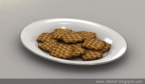 free 3d model cookies