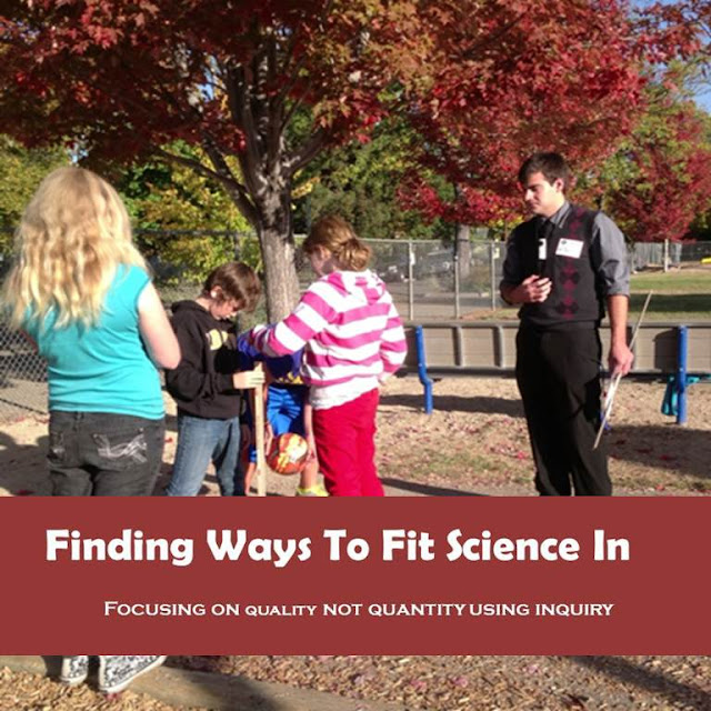 This is the struggle of every elementary teacher: finding ways to fit science in. With so much emphasis placed on reading and math, science (and social studies) often falls to the wayside. Fortunately, our guest blogger is sharing a fantastic post about fitting science in by using inquiry-based learning. Read her post to get all of her insight on this subject!