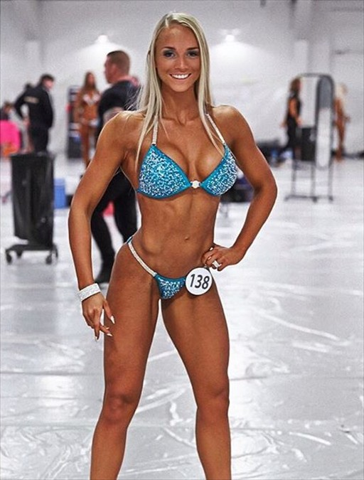 IFBB Bikini Athlete Josefine Achen