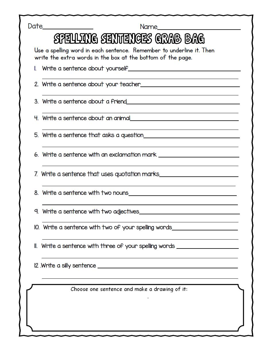 5to  Grado CSB: SPELLING ACTIVITY - UNIT 18 SPELLING REVIEW