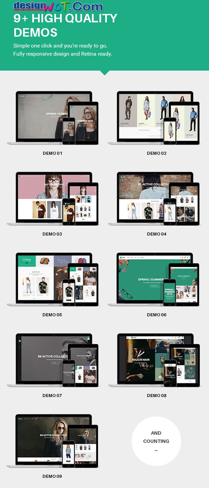 ADOT eCommerce WordPress Theme