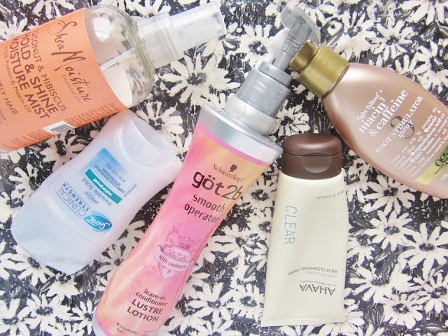 Products I've Used Up
