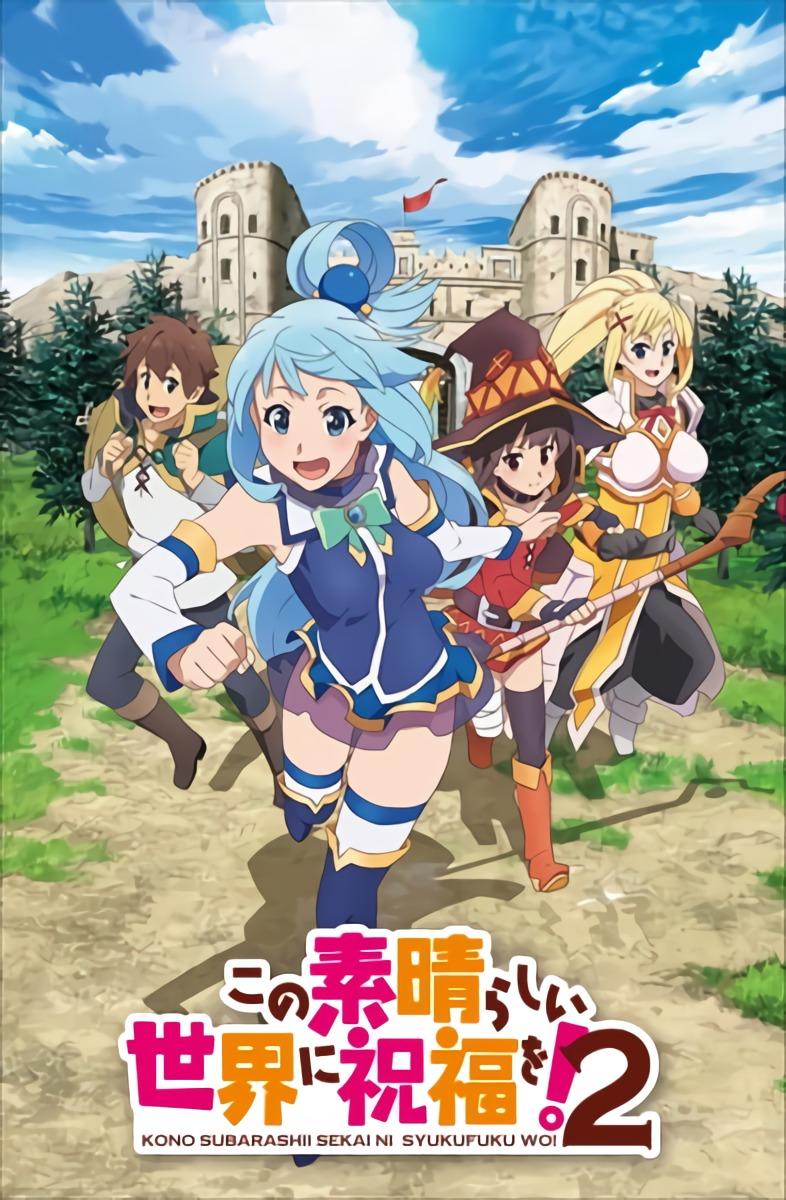 Kono Subarashii Sekai ni Shukufuku wo! S2 BD + OVA Subtitle Indonesia [x265]